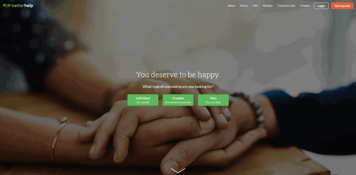 betterhelp homepage 2