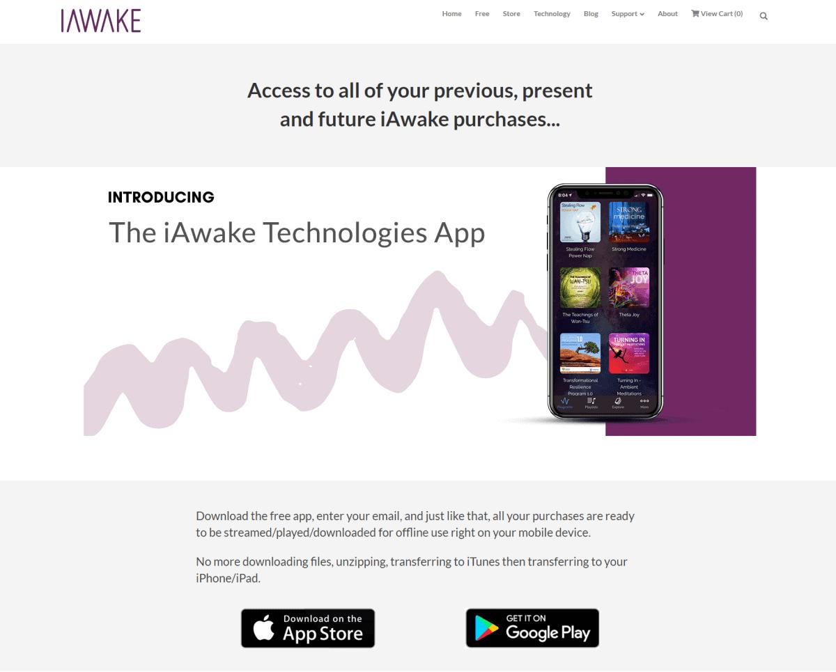 iawake app