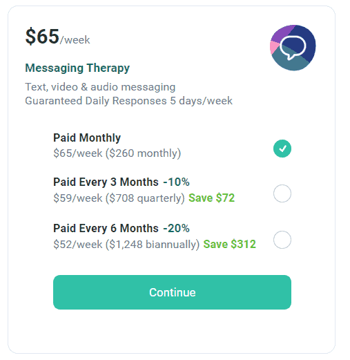 talkspace pricing2