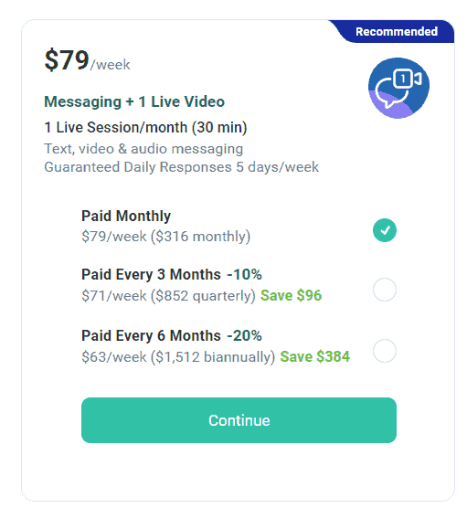 talkspace pricing4